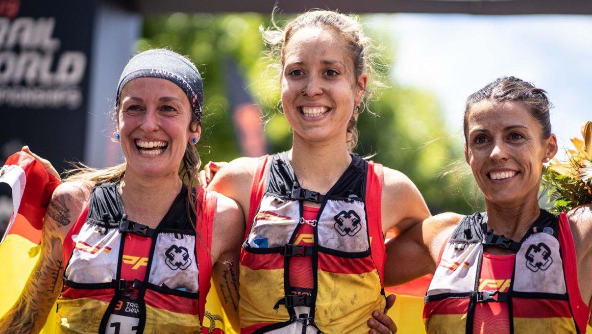 Una plata y dos bronces para España en el mundial de trail