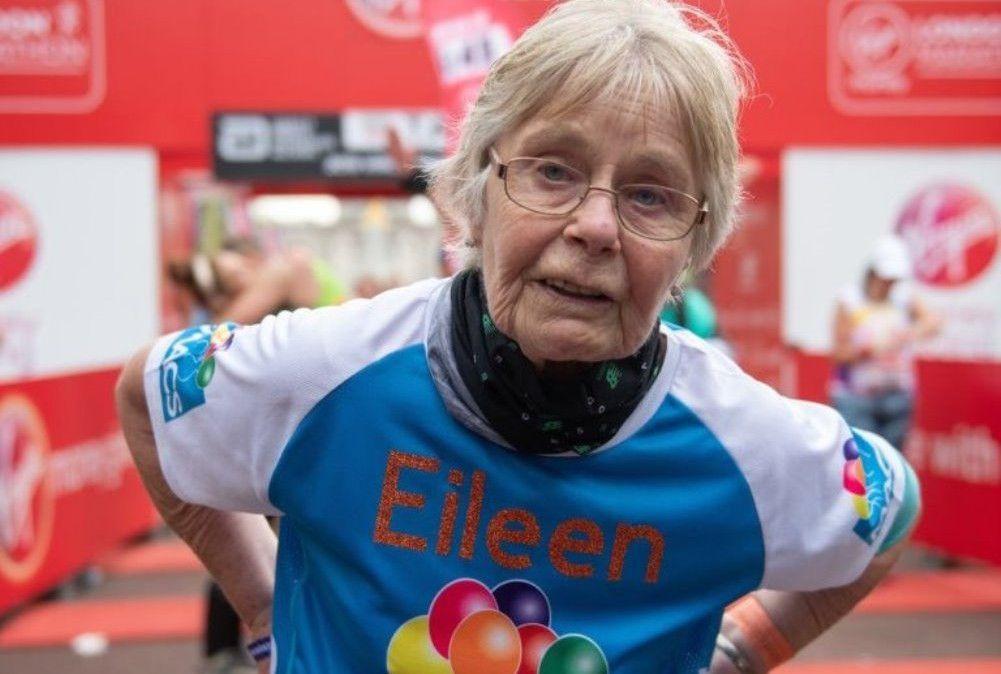 """La """"superabuela"""" del Maratón: finisher con 84 años en 6 horas y 28 minutos"""