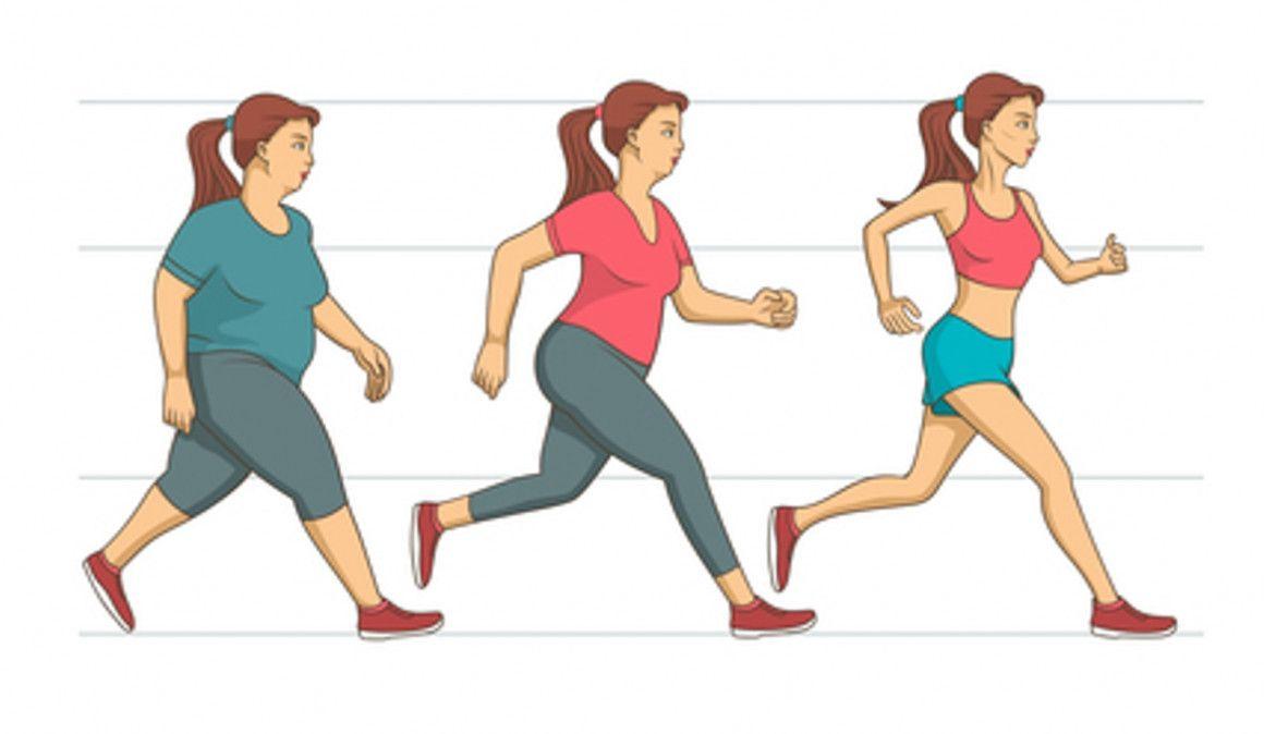 Correr te ayuda a bajar de peso
