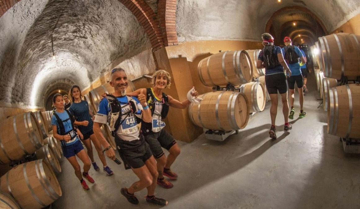La carrera con vino de Ribera en los avituallamientos