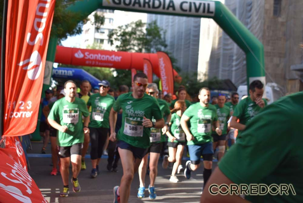 Las mejores fotos de la salida de la Carrera de la Guardia Civil