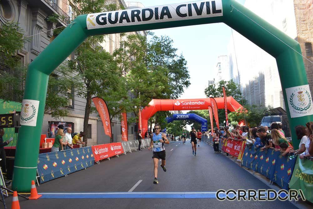 Las mejores fotos de la llegada de la Carrera de la Guardia Civil (GALERÍA 4)
