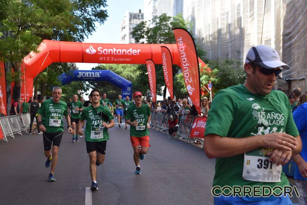 Las mejores fotos de la llegada de la Carrera de la Guardia Civil (GALERÍA 27)