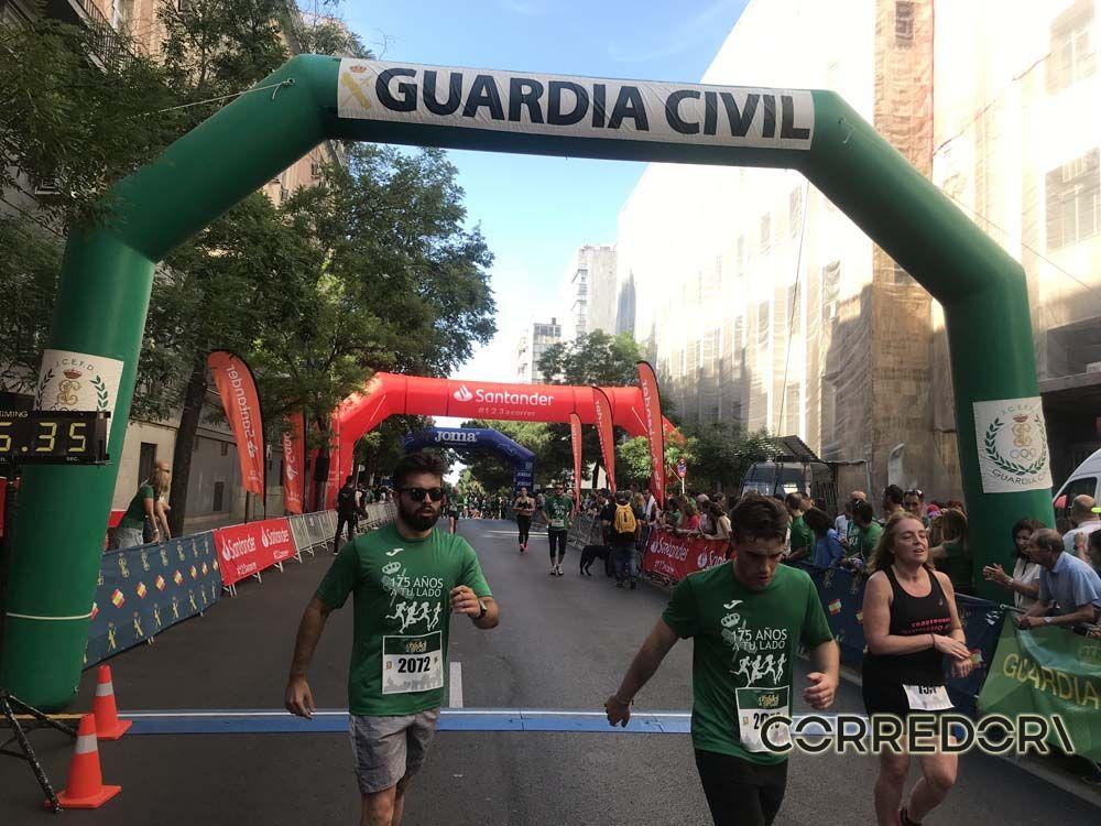 Las mejores fotos de la llegada de la Carrera de la Guardia Civil (GALERÍA 31)