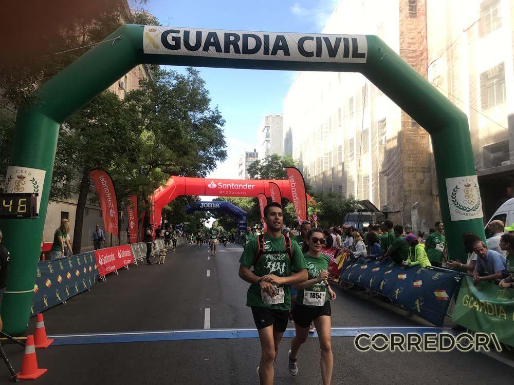 Las mejores fotos de la llegada de la Carrera de la Guardia Civil (GALERÍA 33)