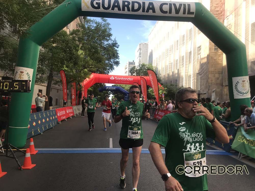 Las mejores fotos de la llegada de la Carrera de la Guardia Civil (GALERÍA 35)