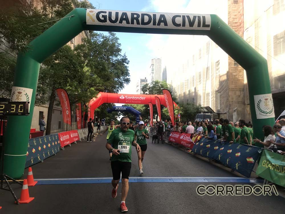 Las mejores fotos de la llegada de la Carrera de la Guardia Civil (GALERÍA 36)