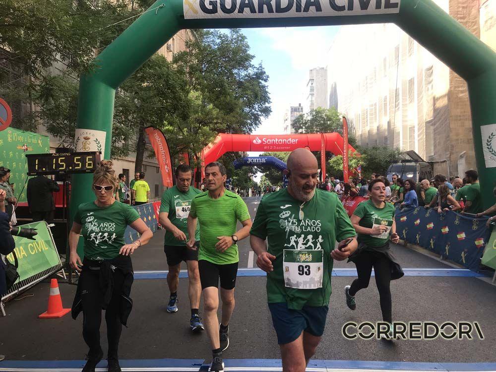 Las mejores fotos de la llegada de la Carrera de la Guardia Civil (GALERÍA 37)