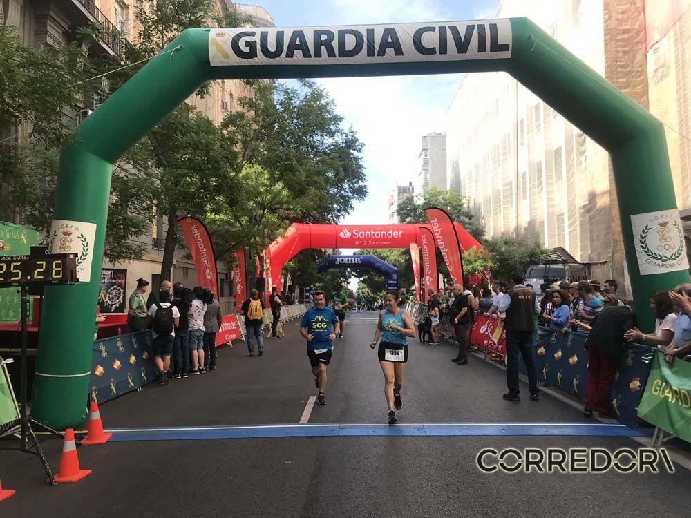 Las mejores fotos de la llegada de la Carrera de la Guardia Civil (GALERÍA 40)