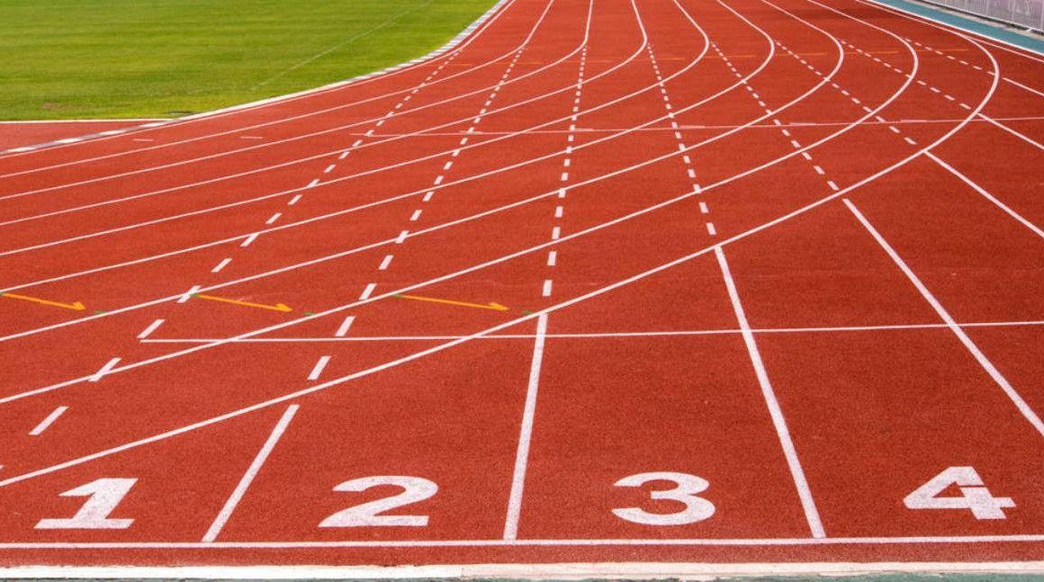 ¿Correrías un maratón en pista?