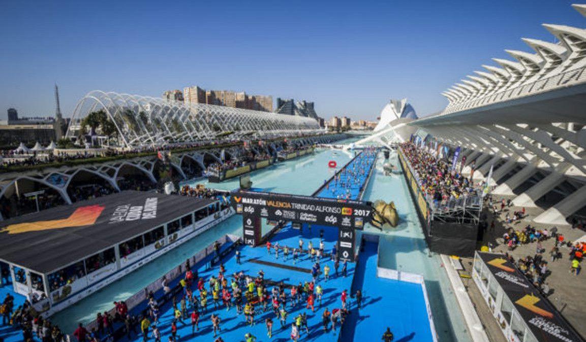 ¡Agotados los 25.000 dorsales para el Maratón de Valencia!