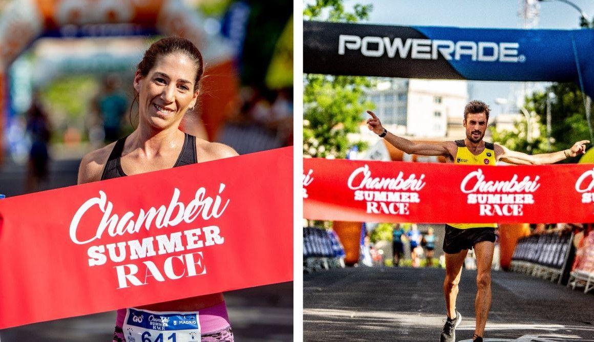Borja Aragoneses y Eva Nieto triunfan en una Chamberí Summer Race de récord