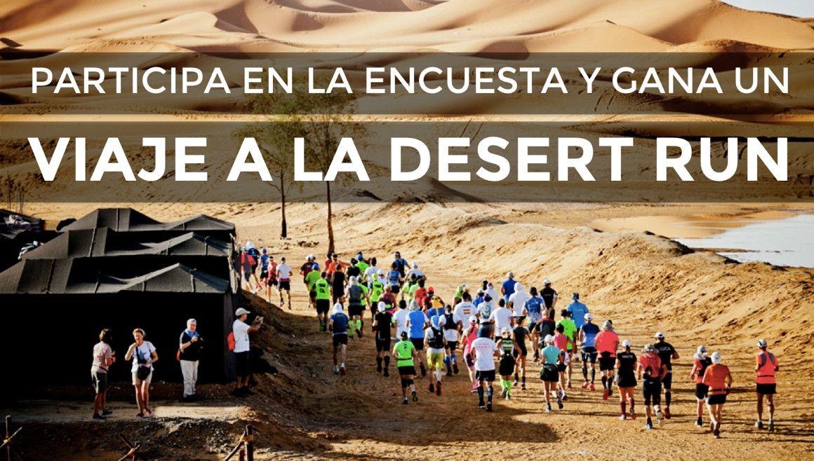 Cuéntanos cómo corres y gana un viaje a Desert Run