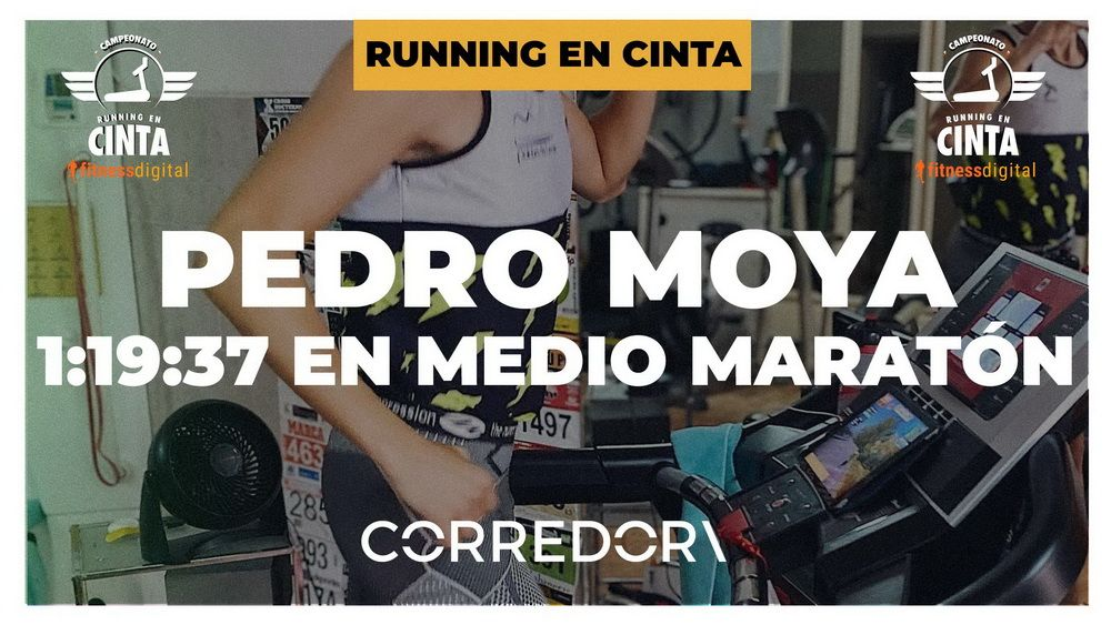 Pedro Moya sigue brillando en el Campeonato de Running en Cinta fitnessdigital