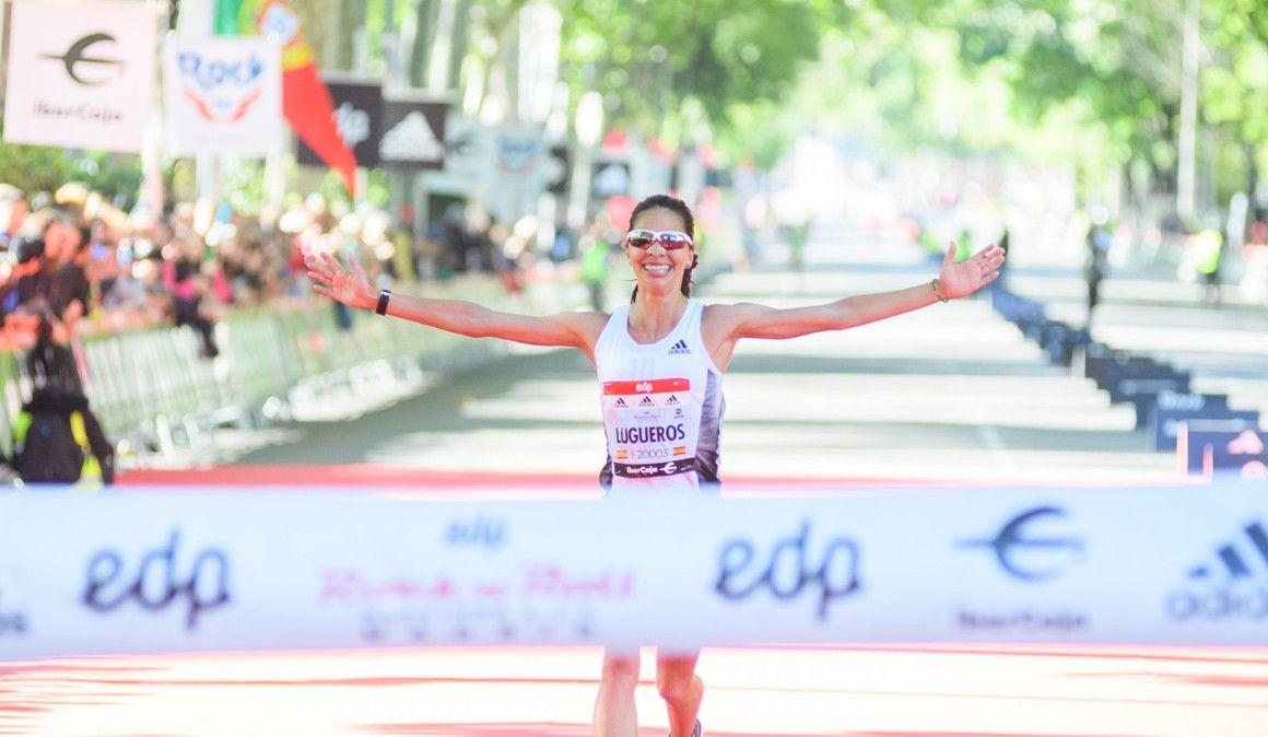 Nuria Lugueros y su debut en medio maratón