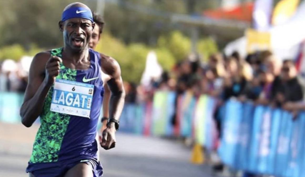 Bernard Lagat, 2:12:10 en maratón con 44 años