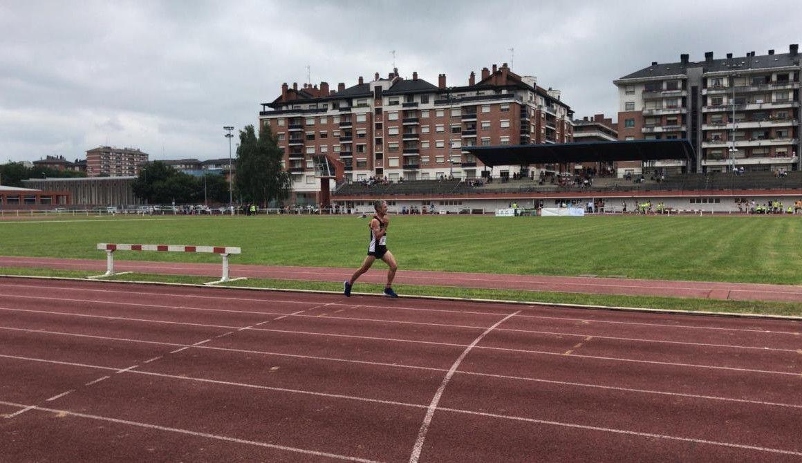 Martín Fiz, récord de Europa de 5.000 metros Master 55