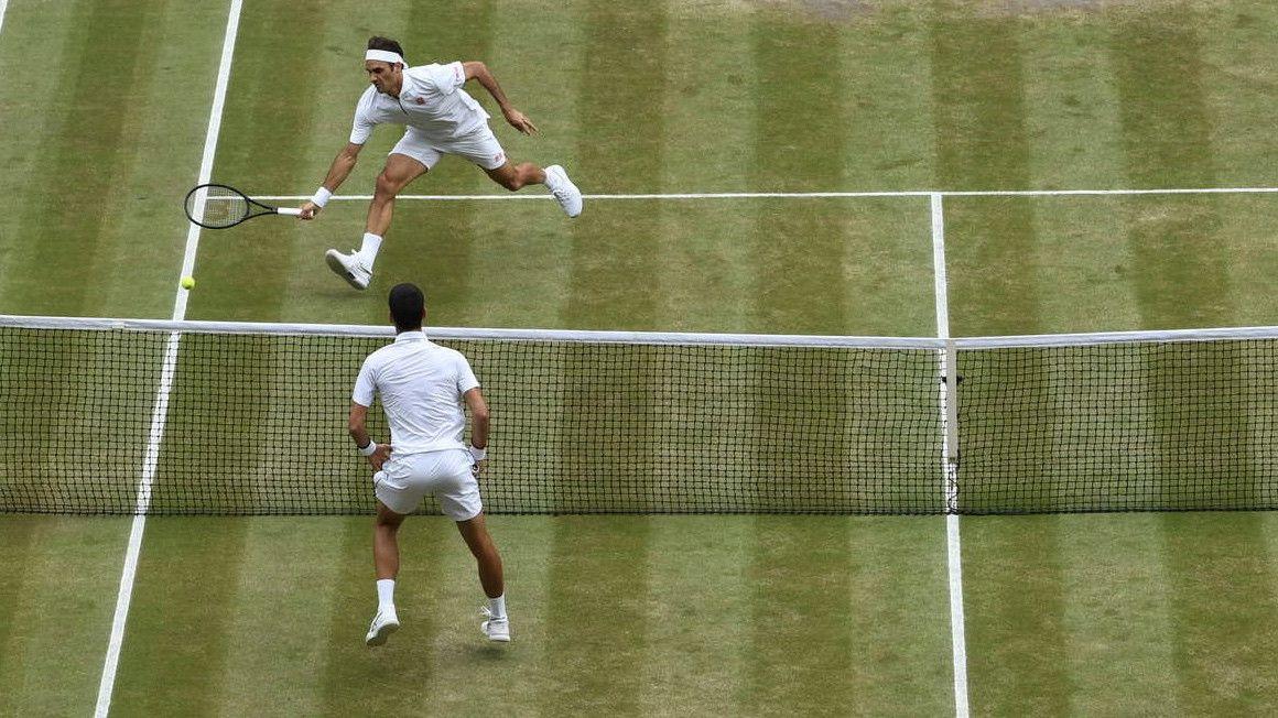 ¿Cuánto han corrido Djokovic y Federer en la final de Wimbledon?
