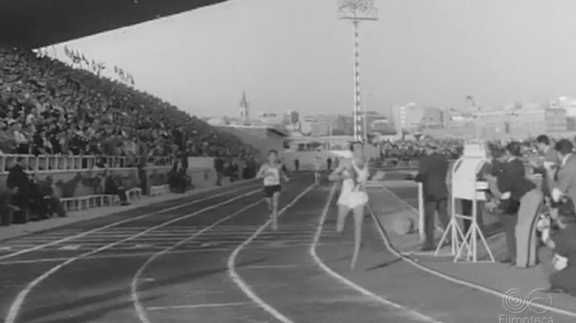 Así fue la inauguración del Estadio de Vallehermoso en 1962