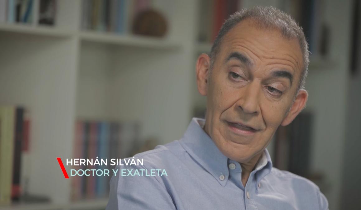 """Hernán Silván: """"El verano es la época de la fascitis plantar"""""""