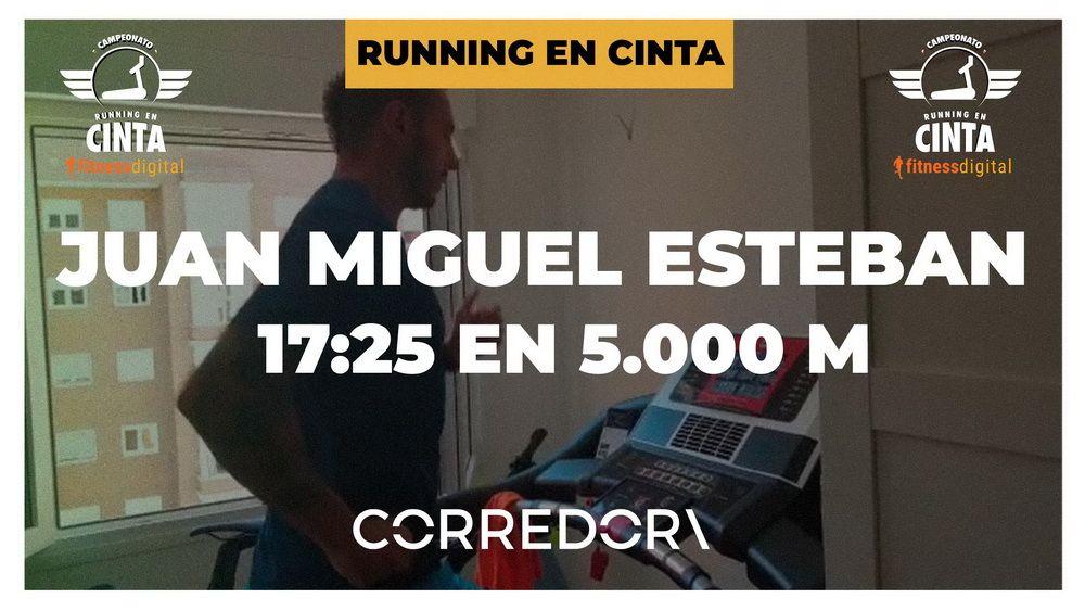 Juanmi Esteban arrebata a Pedro Moya el liderato en la prueba de 5.000 metros