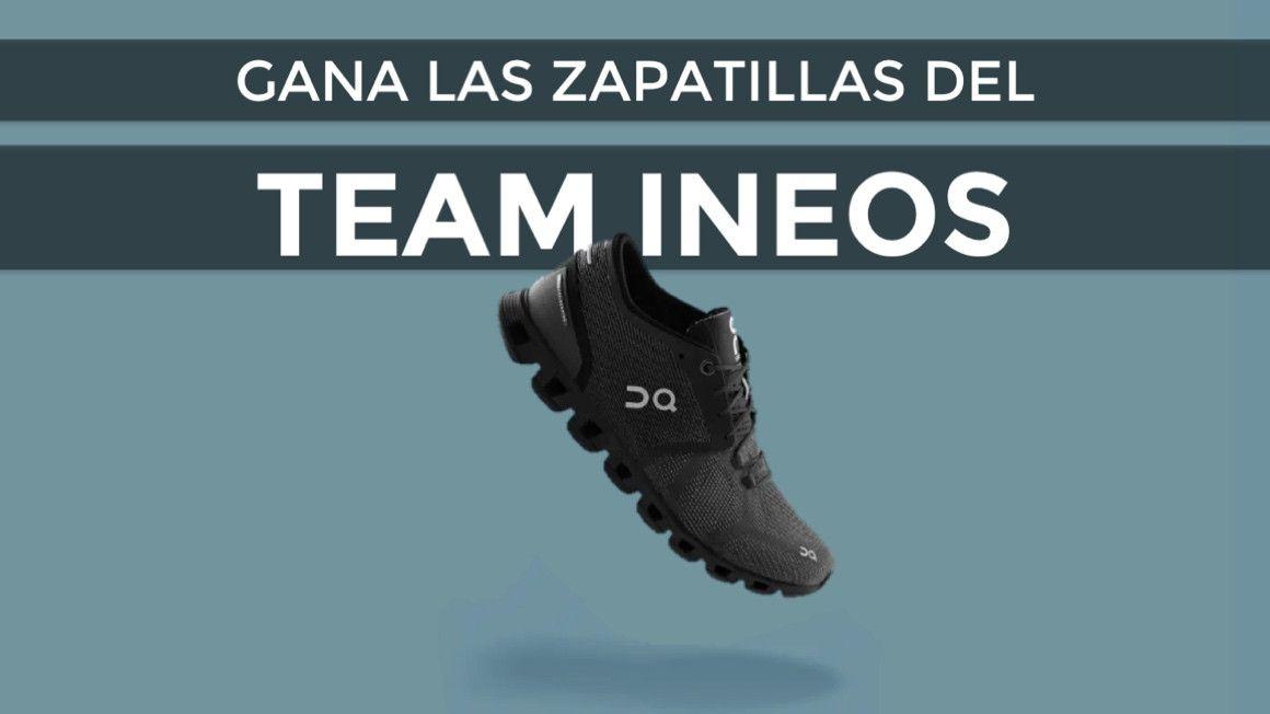Sorteamos las zapatillas de correr del Team INEOS