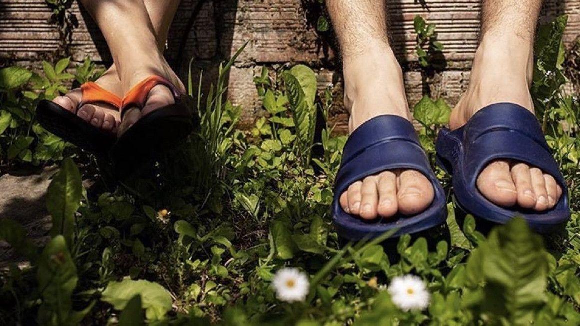 Ser mejor corredor… en chanclas