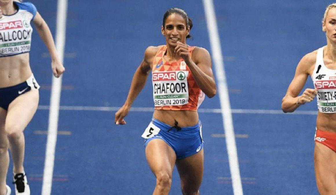 Detenida la olímpica holandesa Madiea Ghafoor con 50 kilos de drogas