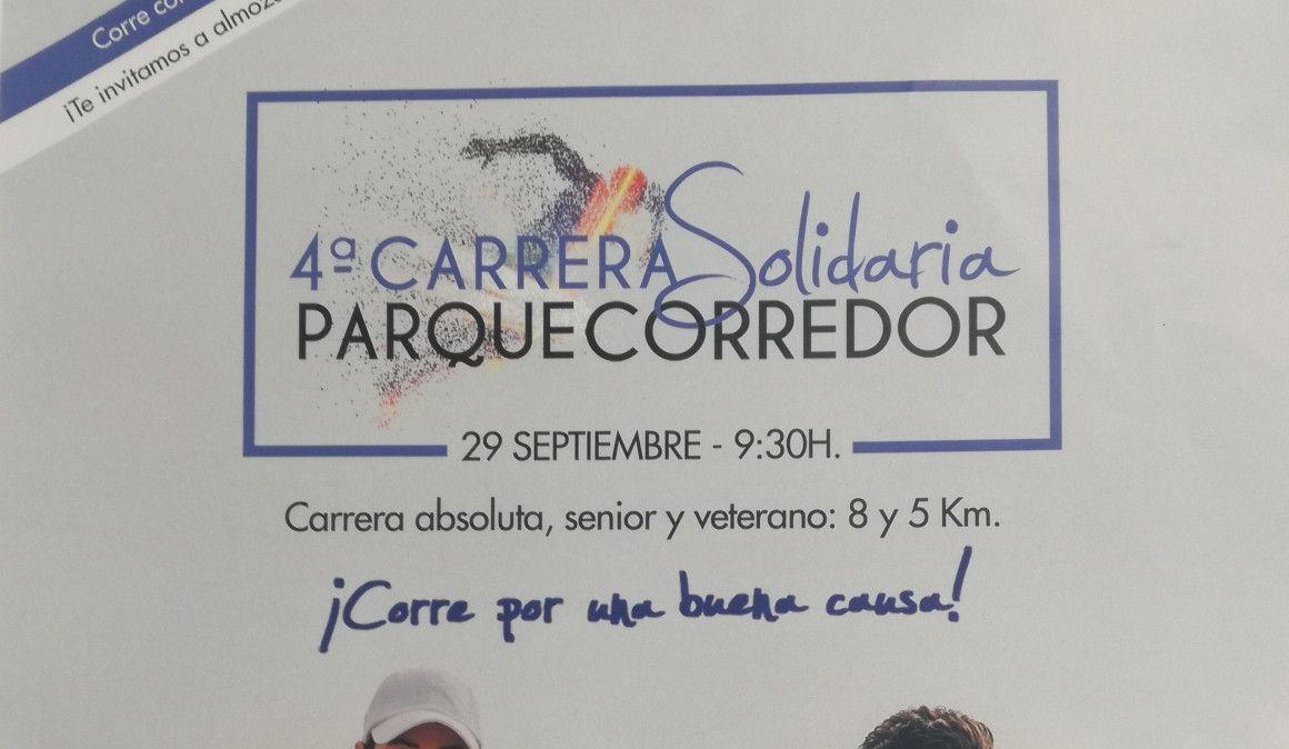 4ª Carrera Solidaria Parque Corredor: inscripciones, fecha e información