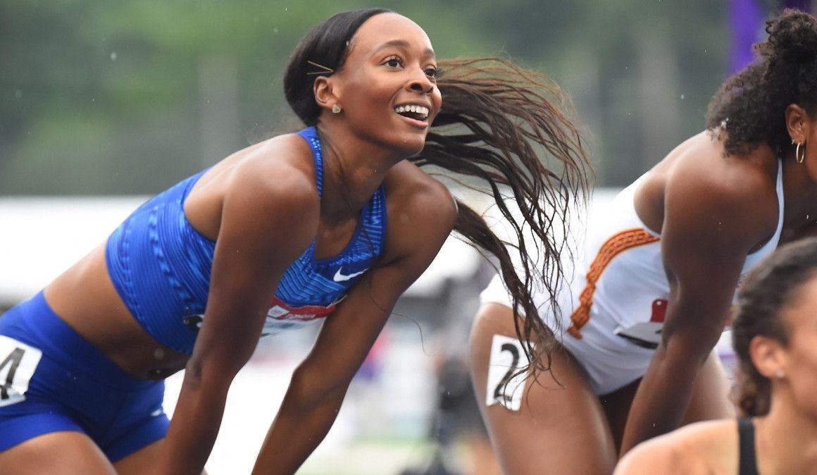 Dalilah Muhammad bate el récord mundial de los 400 metros vallas