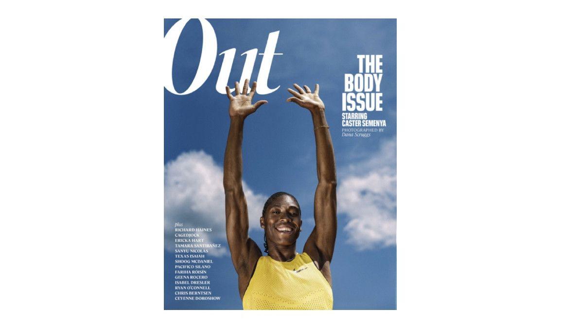 Semenya, portada de la revista LGTBI más importante del mundo