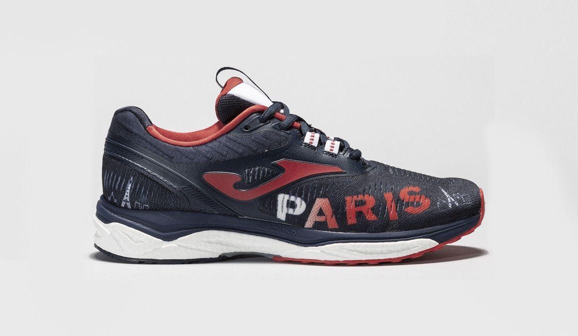 Joma con los 20 kilómetros de París
