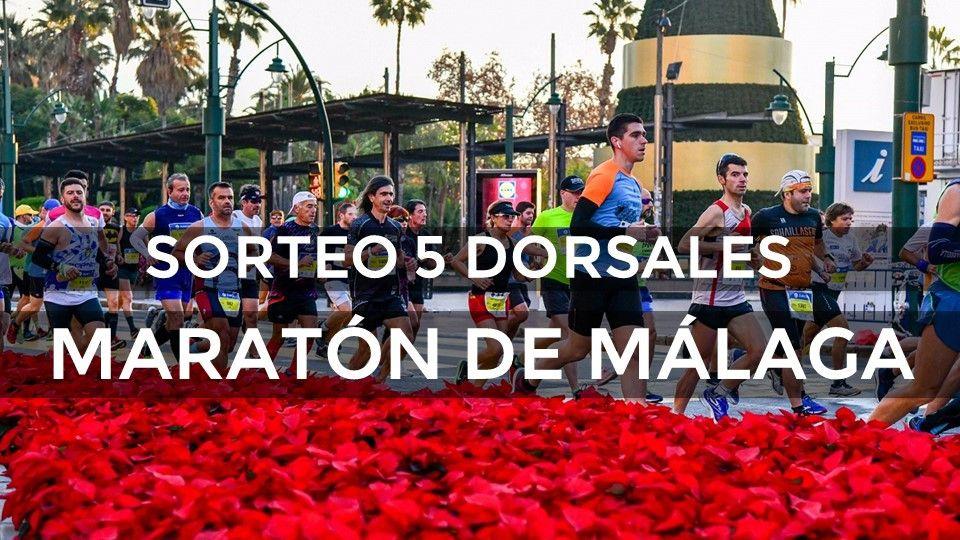 ¡Sorteamos 5 dorsales para la Zurich Maratón de Málaga 2019!