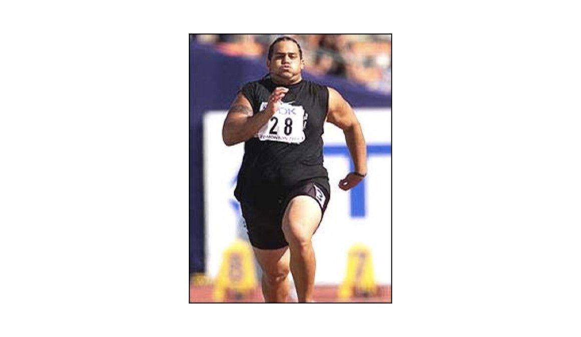 """Trevor """"la tortuga"""" Misipeka, el velocista más lento de la historia"""