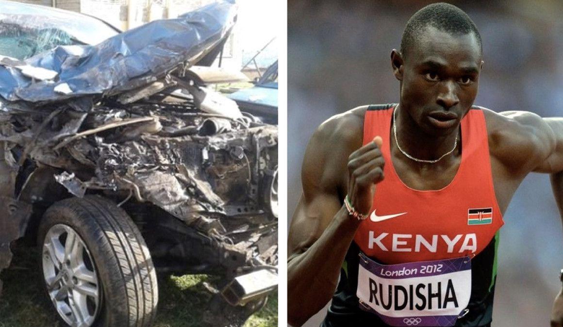 Rudisha sufre un brutal accidente de tráfico