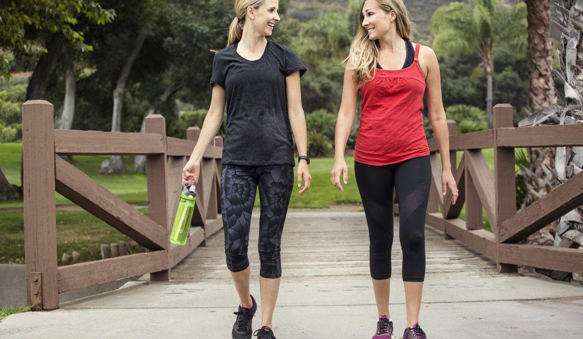 ¿Por qué las corredoras debemos caminar más?