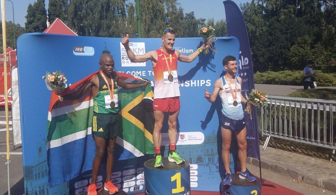 Iraitz Arrospide campeón del mundo de 50 kilómetros