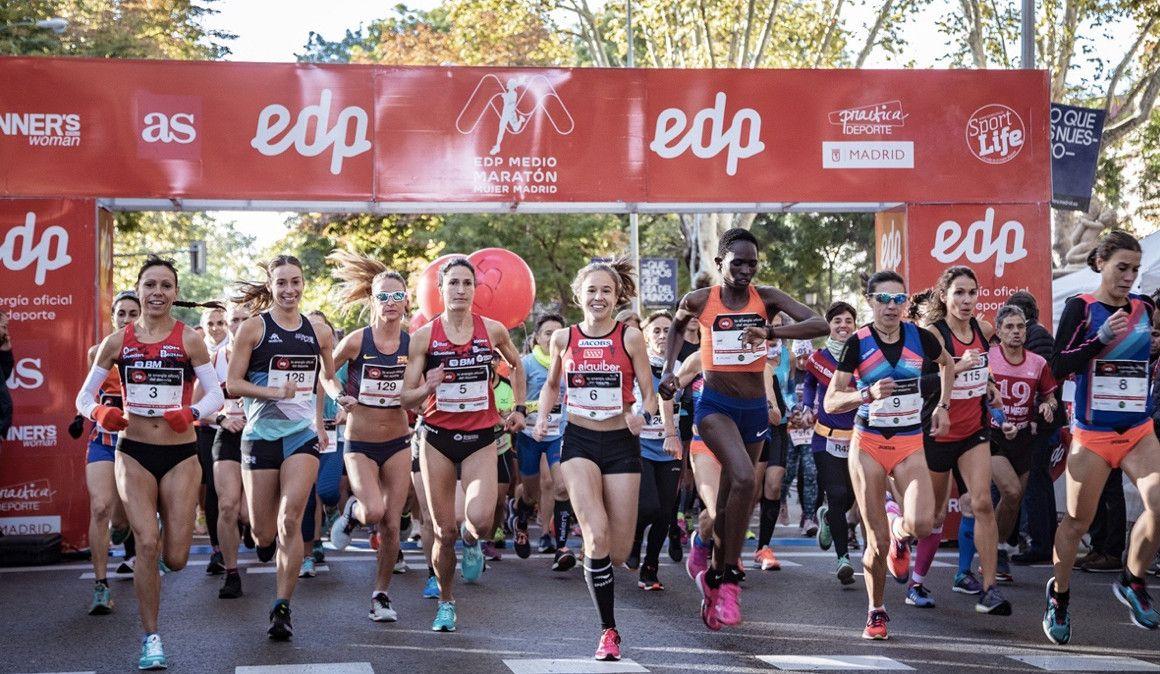 ¡Sorteamos 25 dorsales para el EDP Medio Maratón de la Mujer!