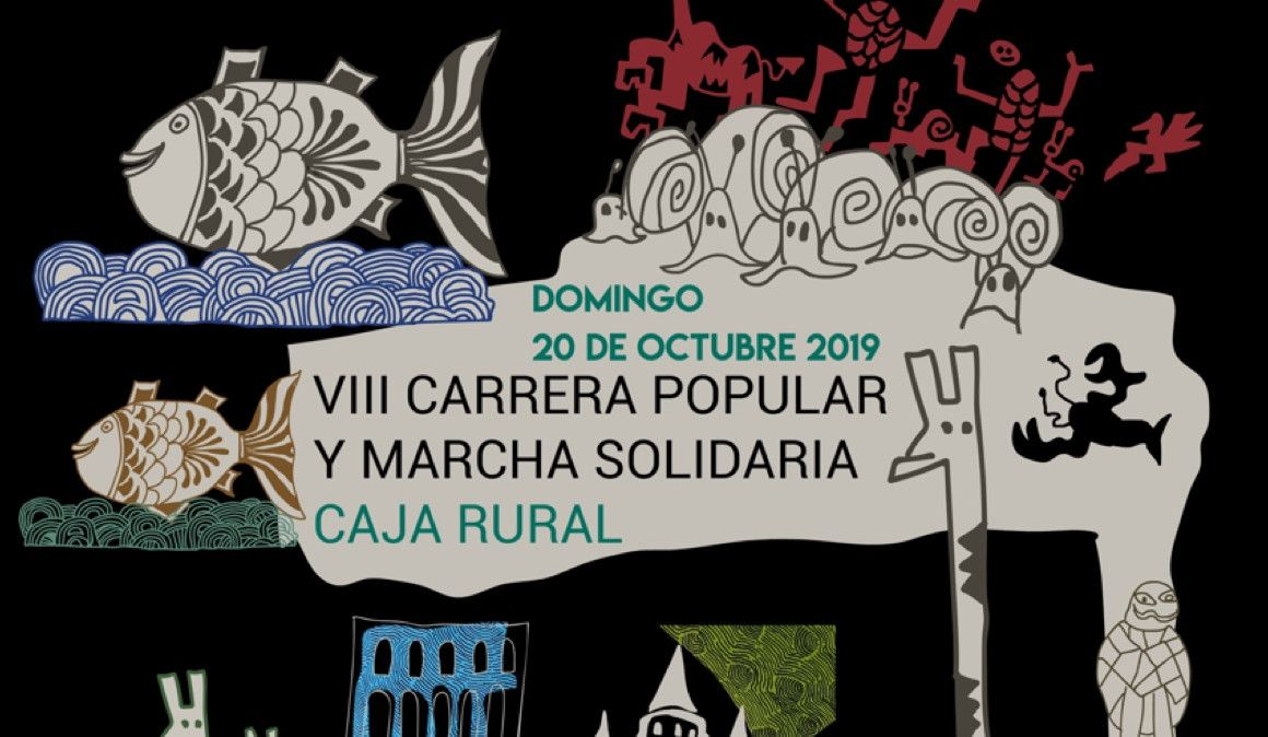 La carrera que une La Granja de San Ildefonso y Segovia