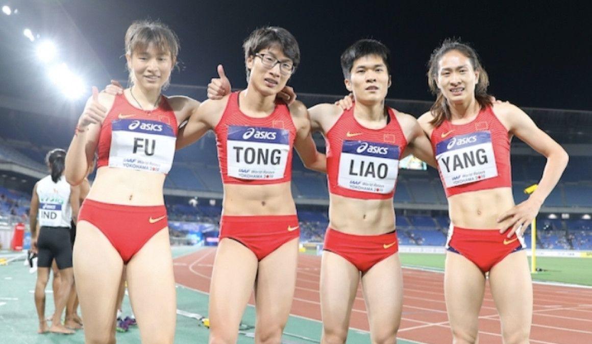Polémica por la apariencia de dos velocistas chinas