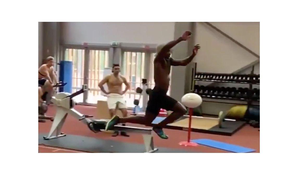 El espectacular triple salto en cámara lenta de Omar Craddock