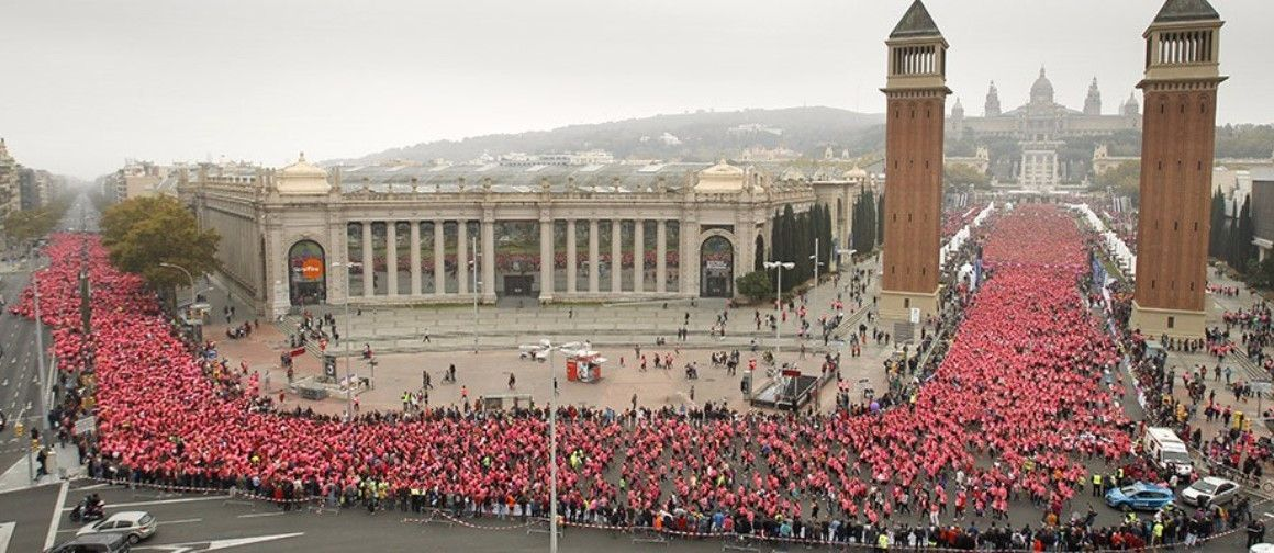 Aplazada la apertura de inscripciones de la Carrera de la Mujer de Barcelona