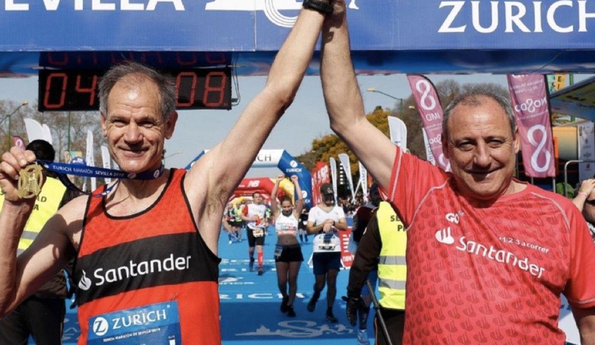 Antón y Cacho celebran en Soria sus carreras
