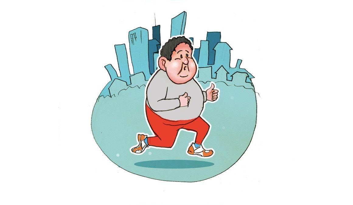 El entrenamiento para perder peso corriendo