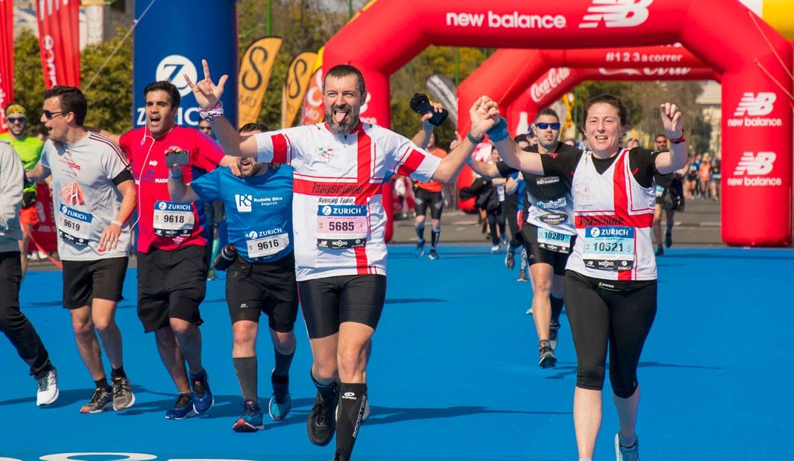 New Balance regala 600 dorsales para el Maratón de Sevilla
