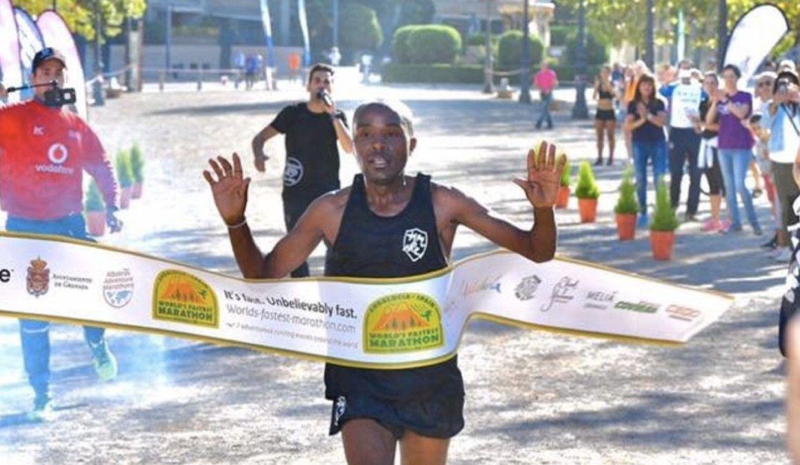 El World's Fastets Marathon de Granada se queda en 2:09:38