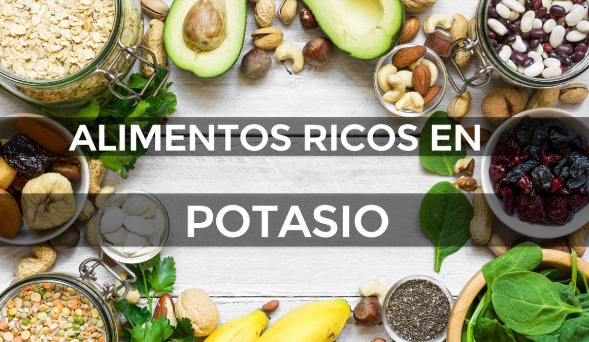 10 alimentos con más potasio que un plátano