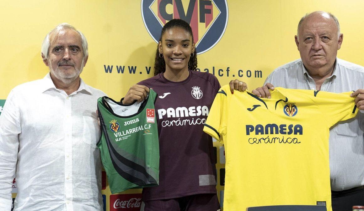 Salma Paralluelo ficha por el Villareal  para seguir su carrera en el fútbol