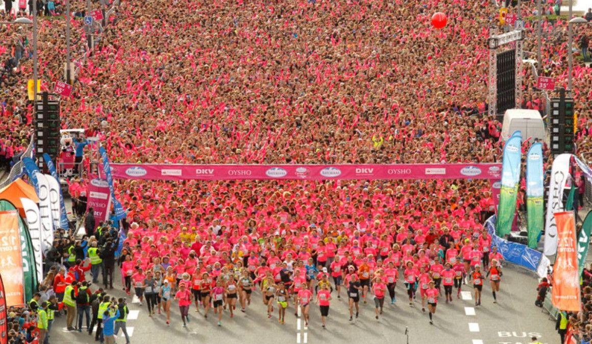¡Abiertas las inscripciones para la Carrera de la Mujer de Barcelona!