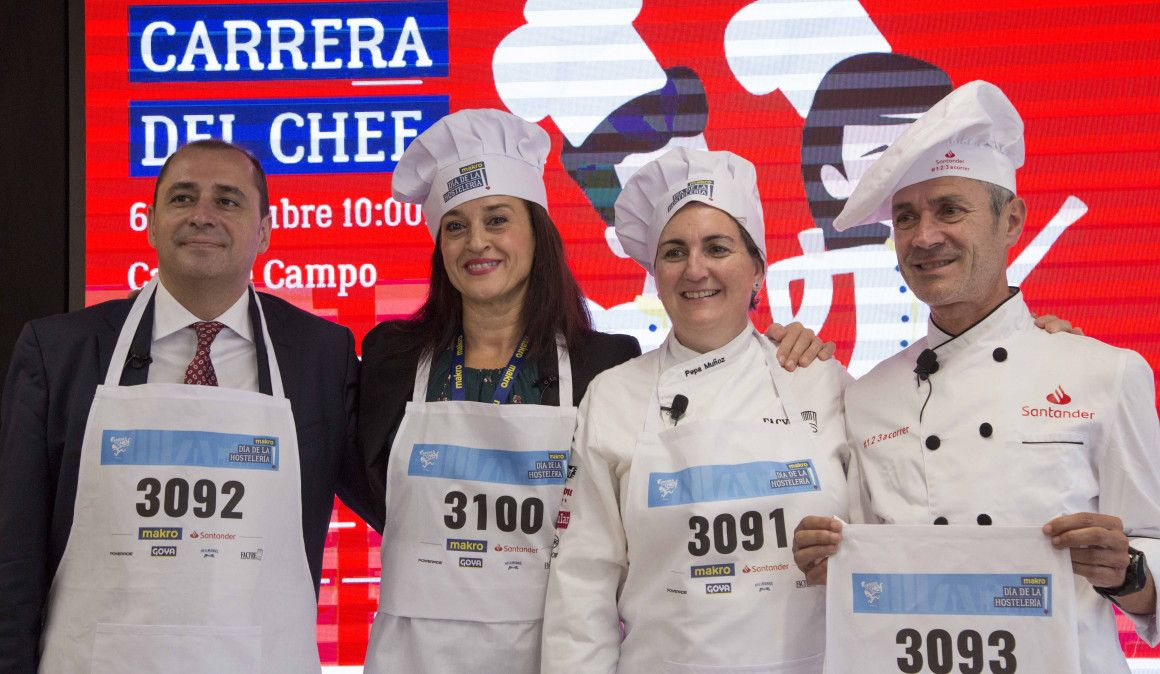Martín Fiz correrá la Carrera del Chef vestido de cocinero